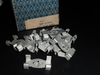 NOS Klammern Schwellerzierleiste 61-66 / NOS clips for rocker trim 61-66